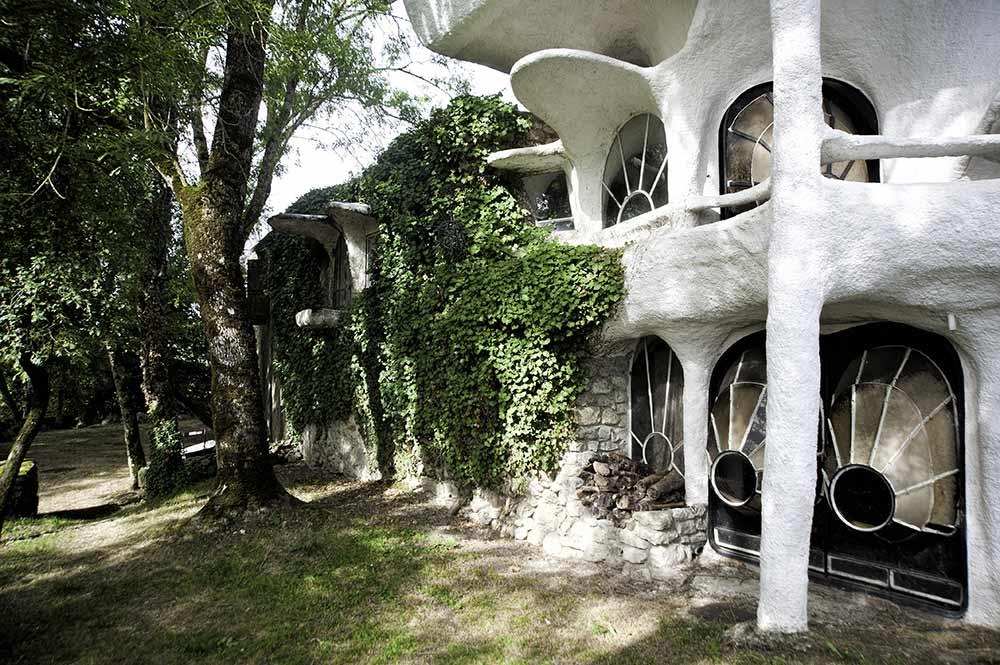 Maison Bulle De Minzier Architecture Organique En Voile De B Ton